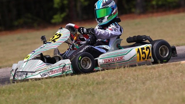 Jak Crawford piloted a Tony Kart at the 2015 USRMCGN and returns to the OTK brand with Team Koene USA