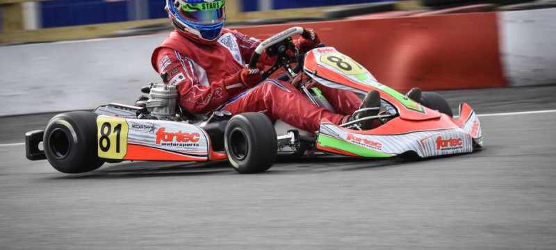 Newly-crowned British Open Rotax champion Jack McCarthy switched to the IAME X30-based Super FKS series last weekend and, despite a lack of testing, made an instant impact.