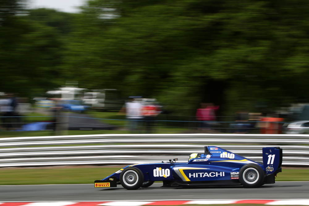 Ricky Collard stormed to race one victory after claiming pole position