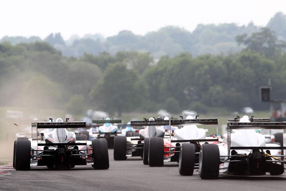 The BRDC British F3 field kicked up a storm