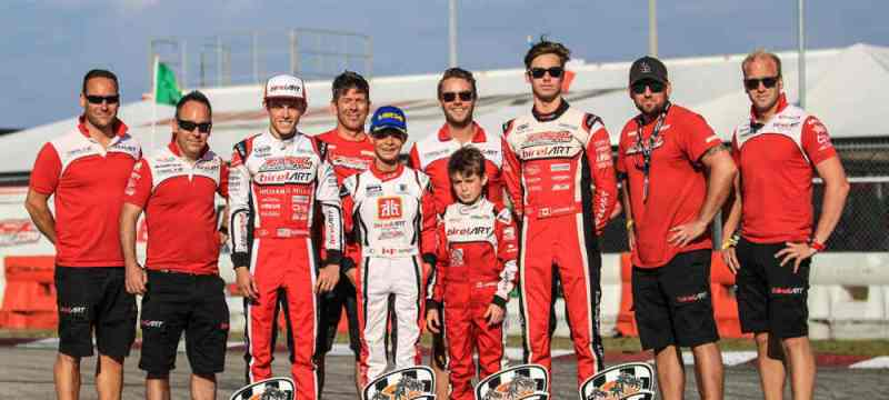 4 more podiums for PSL; 6 for Birel ART