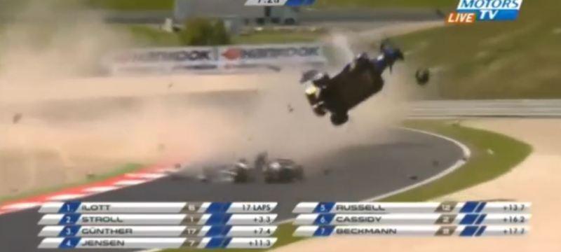 Biggest Formula 3 Crashes compilation