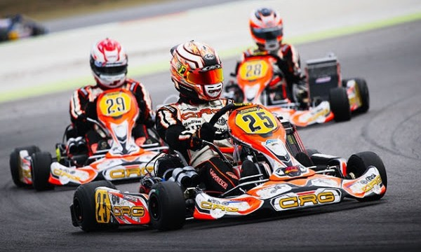 Flavio Camponeschi with Jorrit and Stan Pex. KZ2