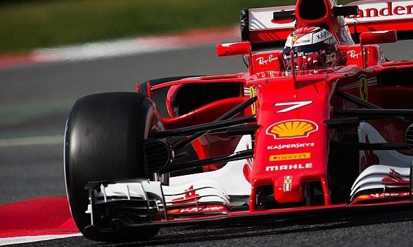 Barcelona F1 test: Raikkonen puts Ferrari on top on day two