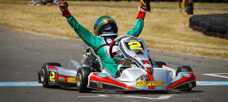 Dylan Tavella back on top in SKUSA competition (Photo On Track Promotions)