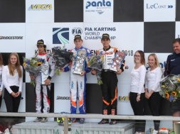 crg on the podium at the worlds