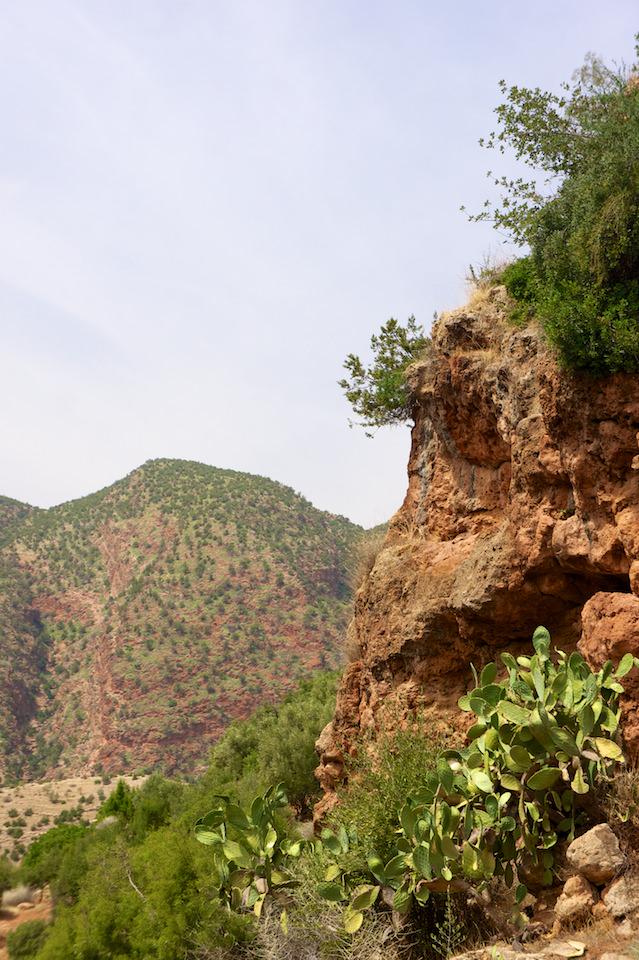 Szlak wokół wodospadu Ouzoud