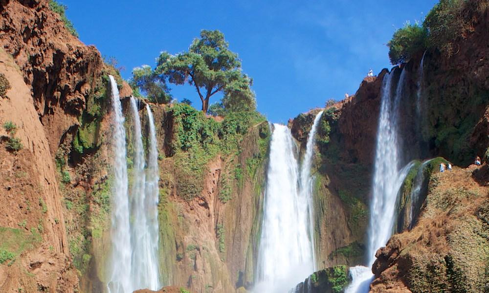 Wodospady Ouzoud