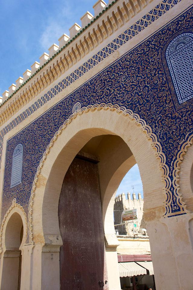 Fez. Brama Bab al Jeloud