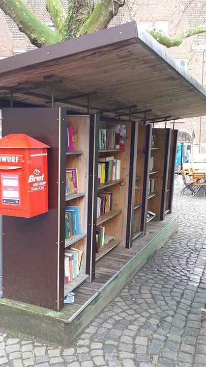 Puntos de intercambio de libros en Münster
