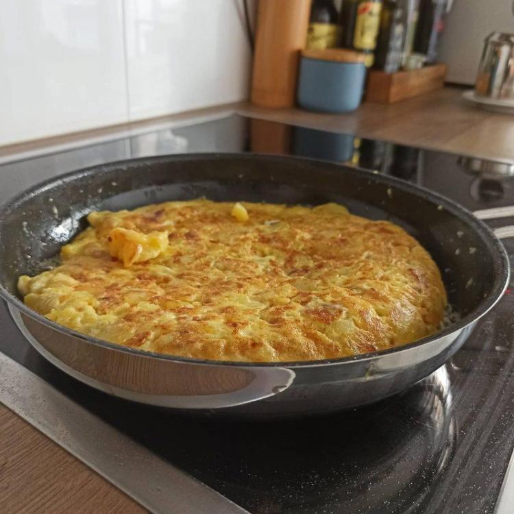Receta de tortilla de patatas (Kartoffel Tortilla)