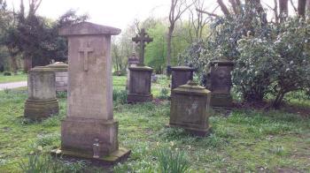 tumbas uberwasserfriedhof de Muenster