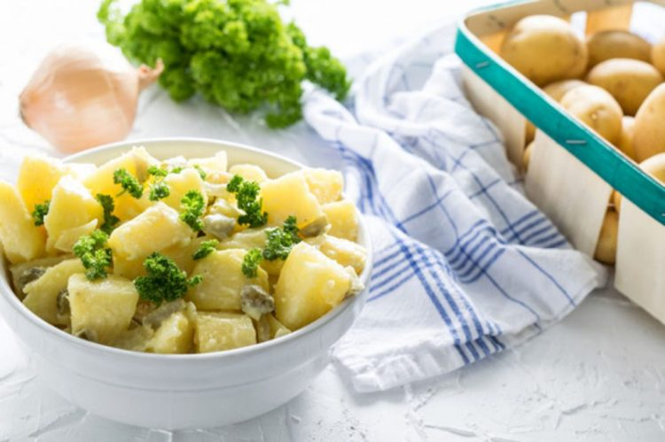 Receta: Kartoffelsalat