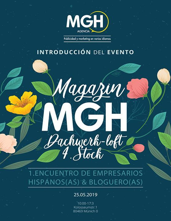 I Encuentro de empresarios y creadores de contenido organizado por MGH