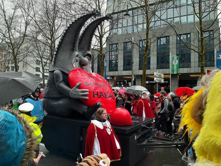 El desfile del Rosenmontag de Colonia