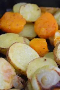 Ofengemüse Kartoffel & Kürbis