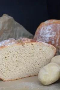 saftiges knuspriges Brot