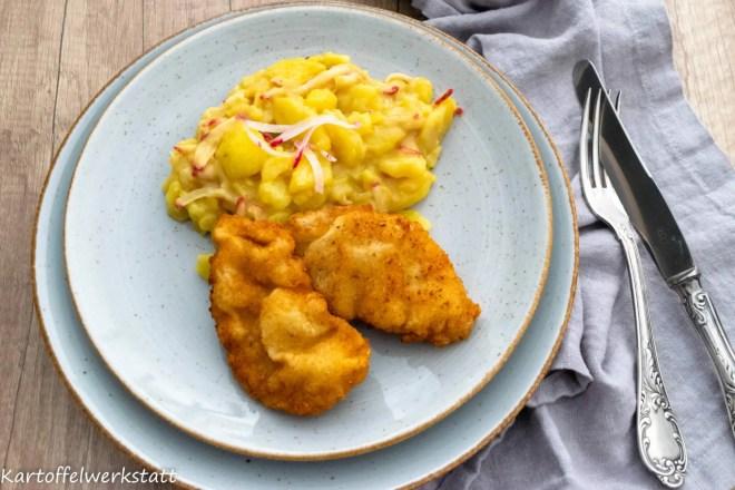 Schnitzel Kartoffelsalat Kitchen Impossible
