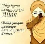 Kata-kata Muslimah tentang Jika Kamu Punya Allah