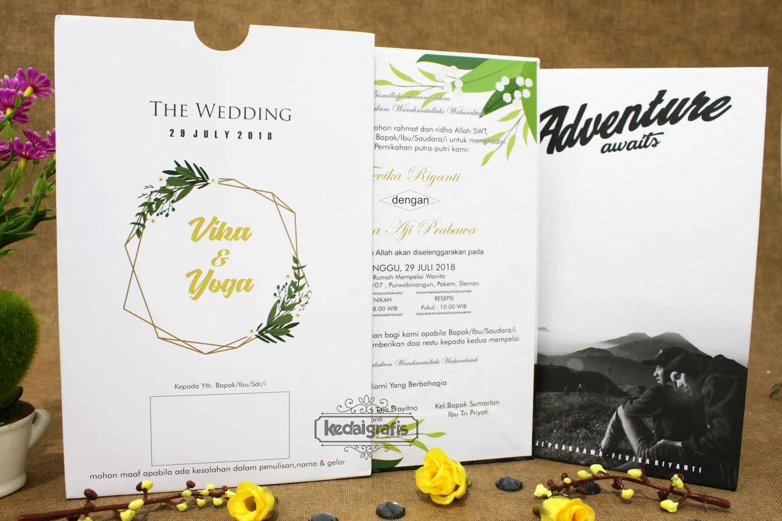 Undangan Pernikahan Jakarta Selatan Kartu Undangan Ulang Tahun
