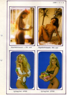 1988-as kártyanaptár-album - 003