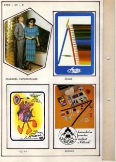 1988-as kártyanaptár-album - 040