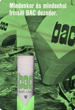 BAC dezodor - 1975
