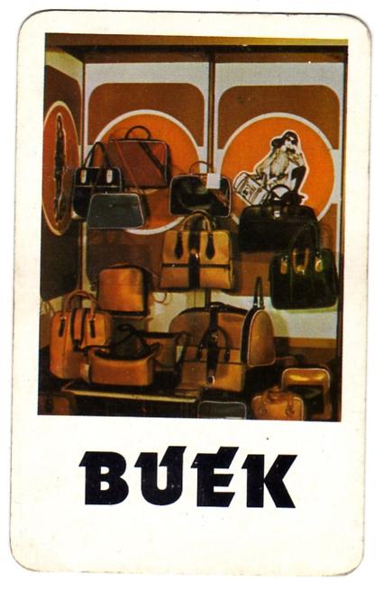 Bácska ÉPISZ - Jánoshalma (bőráru) - 1981
