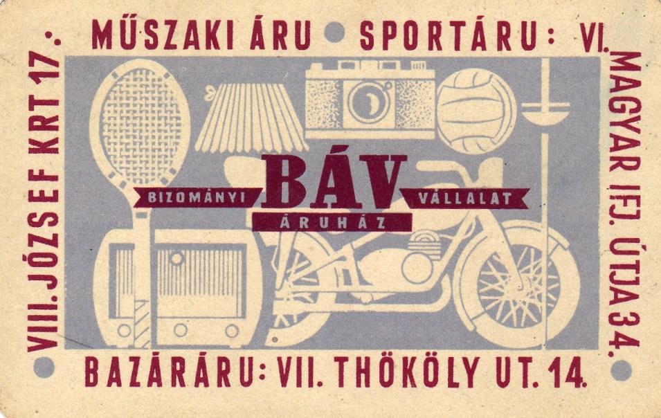 BÁV - 1957