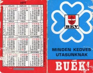 BKV (a) - 1977