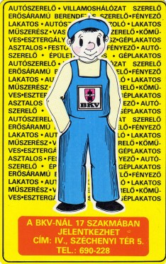 BKV (szakmunkásképzés) - 1984