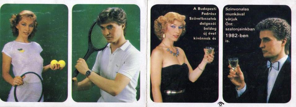 Budapesti Fodrász Szövetkezetek (dupla) - 1982