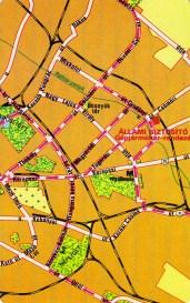 ÁB gépjárműkár (Budapest térkép) - 1982