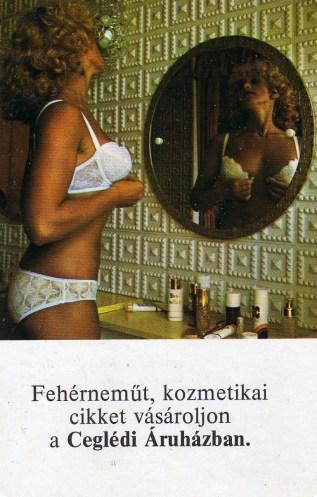 ÁFÉSZ - Ceglédi Áruház (fehérnemű) - 1979