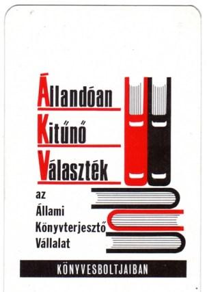 Állami Könyvterjesztő Vállalat - 1975