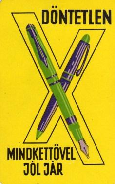 Írószer - 1968