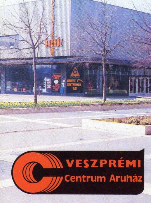 CENTRUM Áruház (Veszprém) - 1985