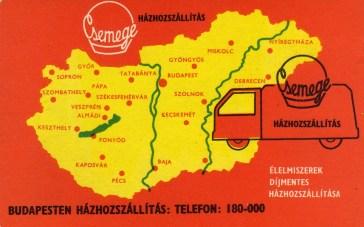 Csemege - 1968