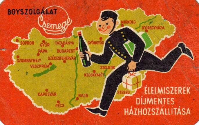 Csemege boyszolgálat - 1961
