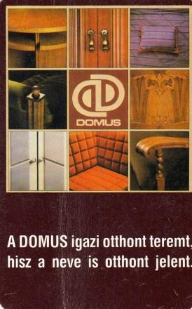 DOMUS (bútor, lakberendezés) - 1988
