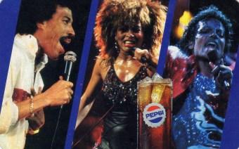 Fővárosi Ásványvíz és Jégipari Vállalat (PEPSI - Lionel Richie, Tina Turner, Michael Jackson) - 1987