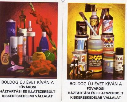Fővárosi Háztartási és Illatszerboltok - 1978