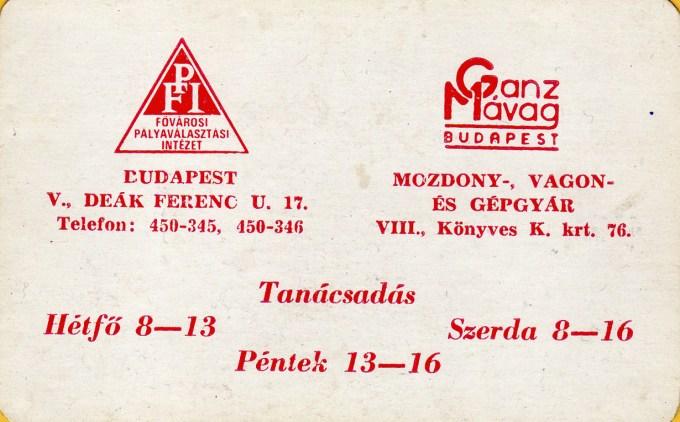 Ganz Mávag - 1972