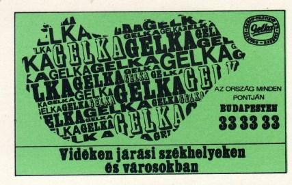 Gelka (2) - 1970