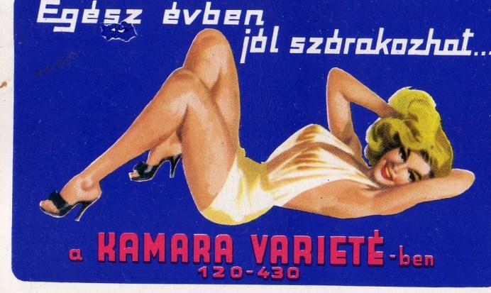 Kamara Varieté - 1968