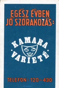 Kamara Varieté - 1973