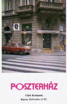 Képzőművészeti Kiadó - POSZTERHÁZ (Budapest, Bajcsy 62) - 1985