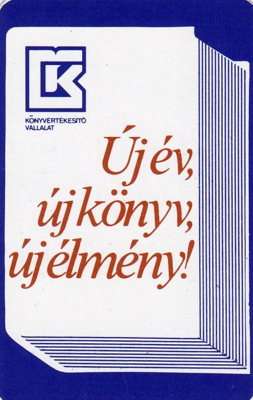 Könyvterjesztő Vállalat - 1984
