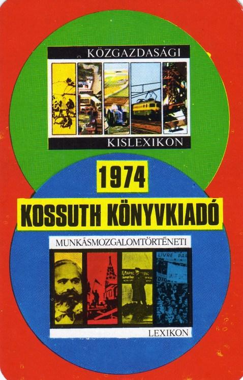 Kossuth Könyvkiadó - 1974