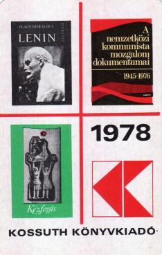 Kossuth Könyvkiadó - 1978